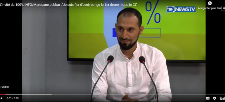 cote d'ivoire Drone ceo jebbar marouane